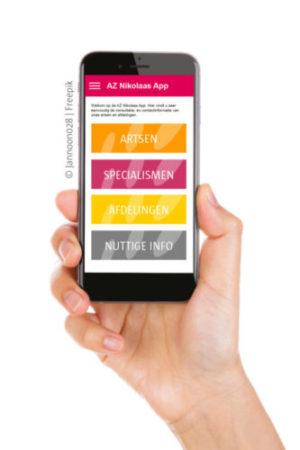 AZ Nikolaas app