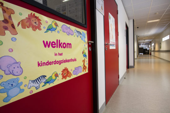 Nu ook website kinderdagziekenhuis