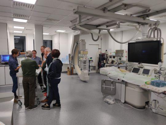 Geslaagde kennismaking van apothekers met dienst interventionele cardiologie