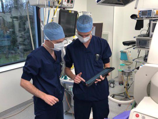 Digitaal anesthesiedossier voor het eerst in gebruik