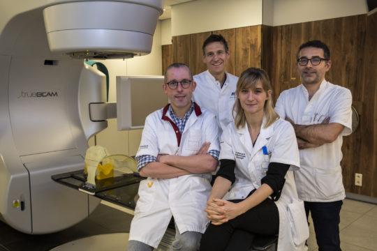 Adaptieve radiotherapie voor patiënten met hoofd- en/of halstumoren