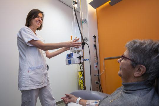 Dagzaal kloppend hart van de oncologische en hematologische zorgverlening in Lokeren en omstreken