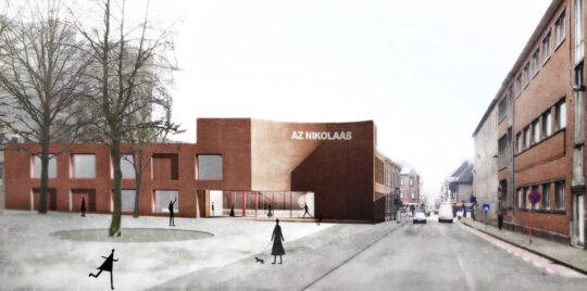 AZ Nikolaas investeert in nieuwbouw polikliniek Temse