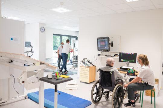 Dienst fysische geneeskunde en revalidatie campus Sint-Niklaas in een nieuw kleedje