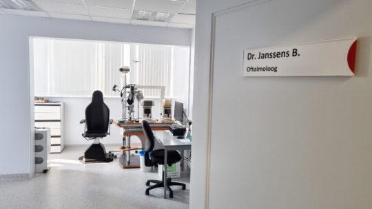 Uitbouw dienst oftalmologie in het AZ Lokeren